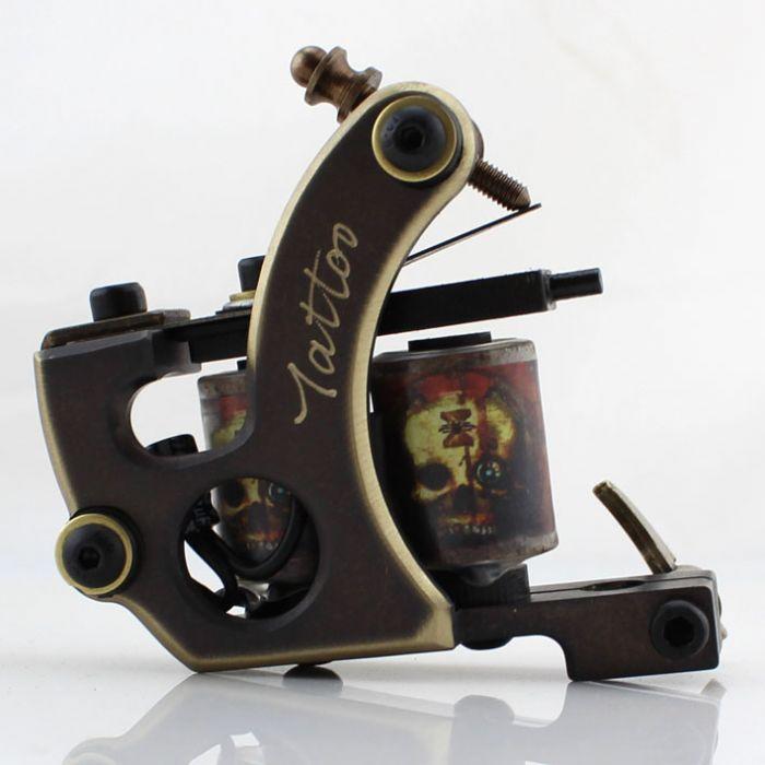 Pure Copper Handmade Tattoo Machine - Shader 8802