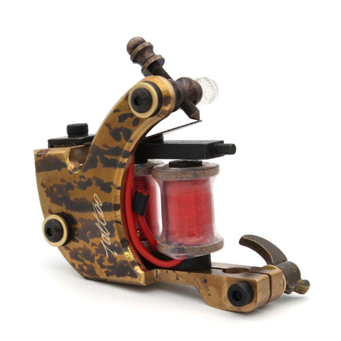 Pure Copper Handmade Tattoo Machine - Liner 8835