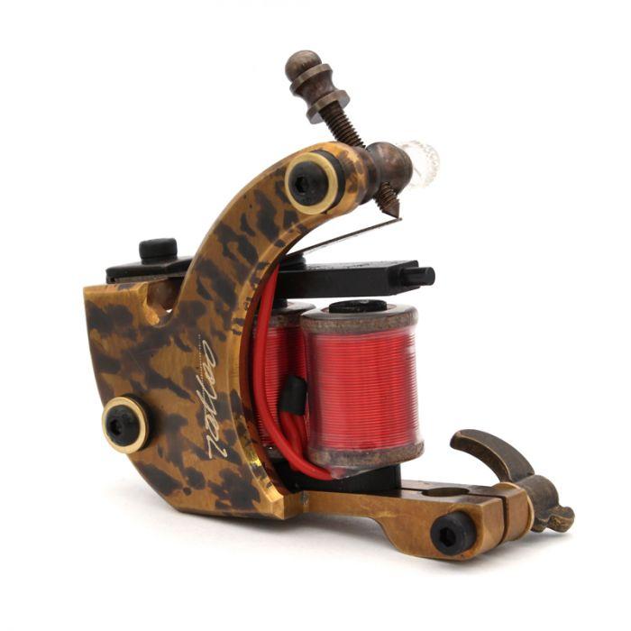 Pure Copper Handmade Tattoo Machine - Shader 8836