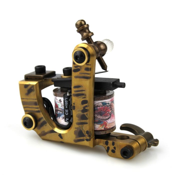 Pure Copper Handmade Tattoo Machine - Liner 8838