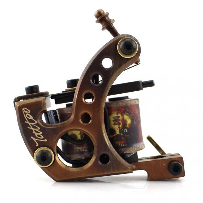 Pure Copper Handmade Tattoo Machine - Shader 8809